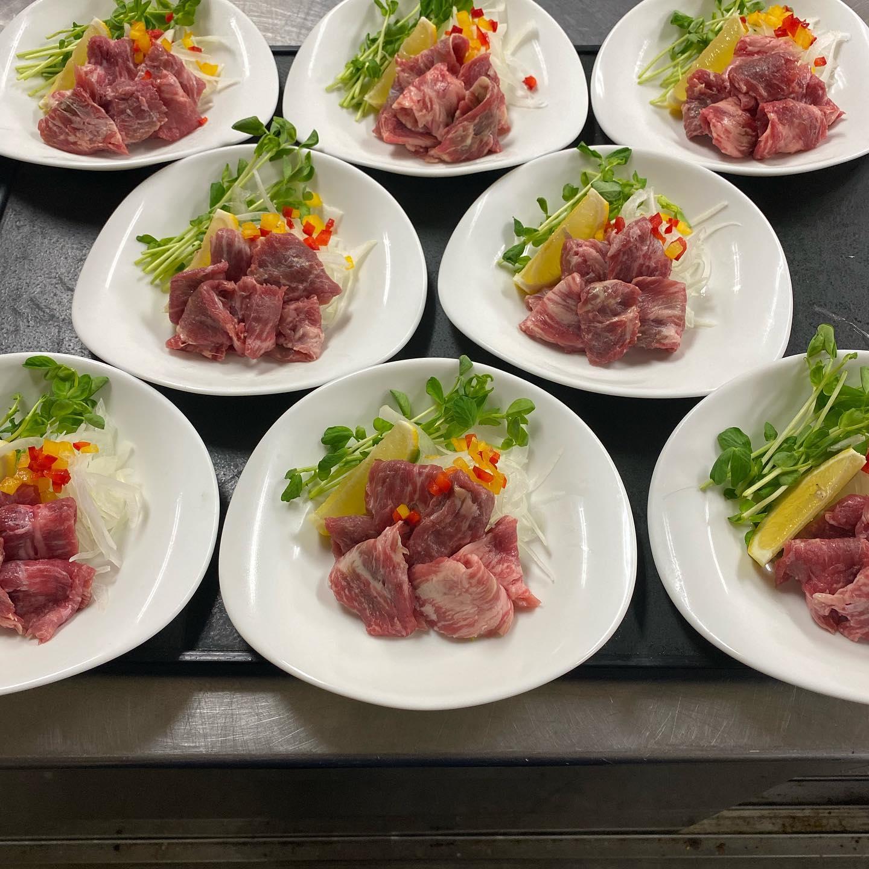 宴会料理の一部をご紹介させて頂きます。 伝統の味と常に新しいアイデアを! 少人数様のご宴会,お食事会承り中です。