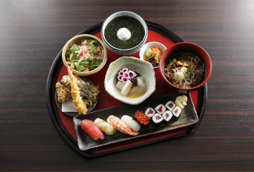 寿司そば膳